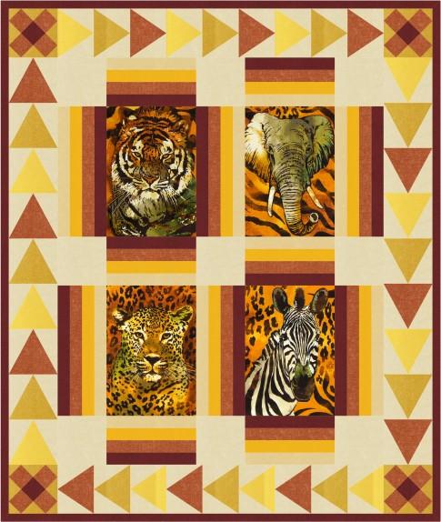 Spotted Safari Free Pattern Robert Kaufman Fabric Company