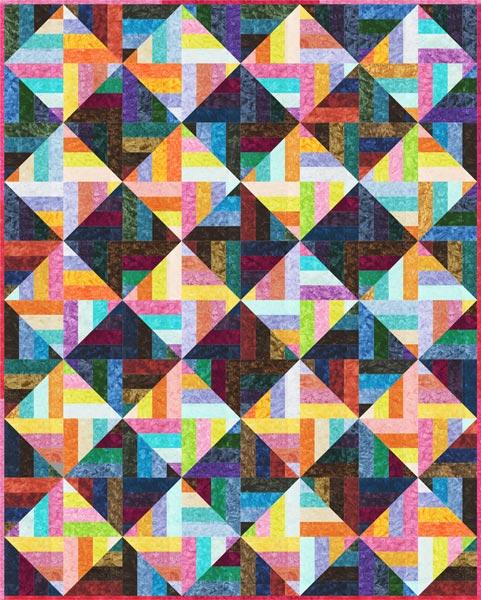 Strip Disco Free Pattern Robert Kaufman Fabric Company