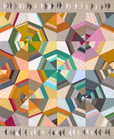 Octagon Quilting Templates : Octagon Shimmer Designer Pattern: Robert Kaufman Fabric Company
