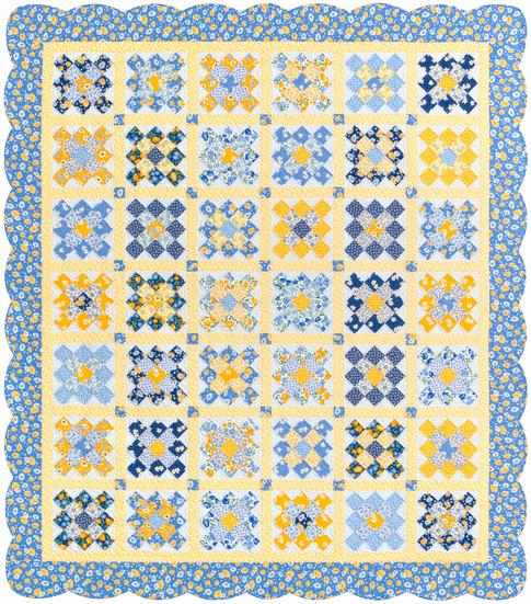 Sunshine Garden Free Pattern Robert Kaufman Fabric Company