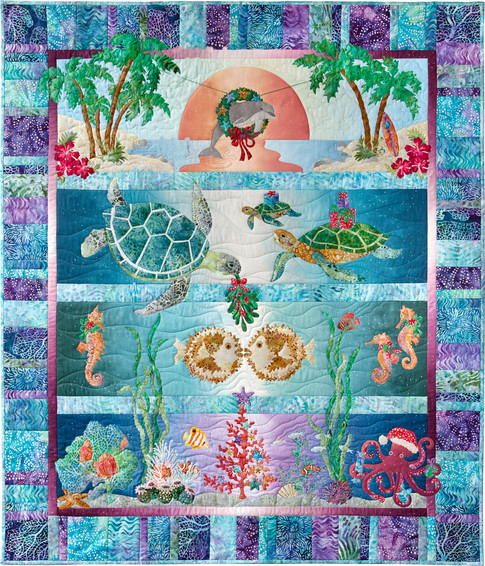 Tropical Noel Designer Pattern Robert Kaufman Fabric Company