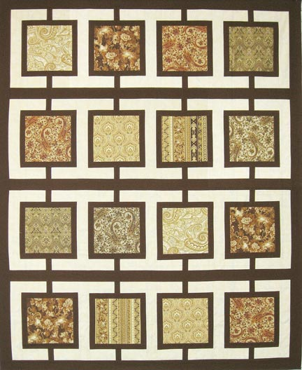 Square Quilt Patterns Free : Town Square Designer Pattern: Robert Kaufman Fabric Company