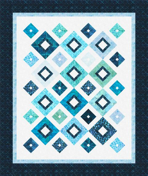 Up Square Down Square Designer Pattern: Robert Kaufman Fabric Company : cozy quilts designs - Adamdwight.com