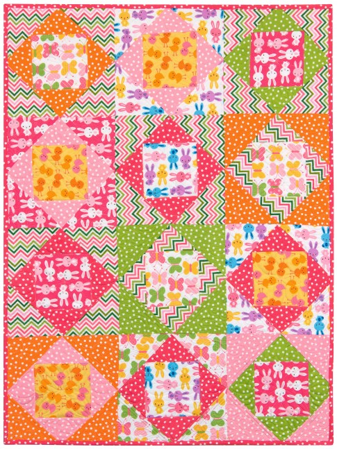 Quilt Patterns For Flannel : Economie Zoologie Flannel Free Pattern: Robert Kaufman Fabric Company