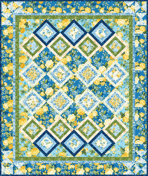 Rose Trellis Free Pattern Robert Kaufman Fabric Company