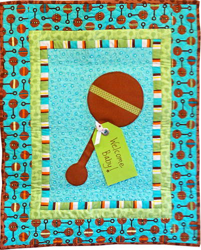 Months Til Baby  Welcome Baby banner Pattern Baby Boy Quilt Patterns For Beginners