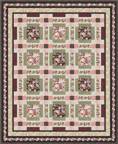 Garden Trails Free Pattern Robert Kaufman Fabric Company