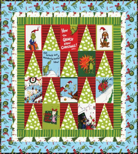 Whoville Forest Free Pattern: Robert Kaufman Fabric Company
