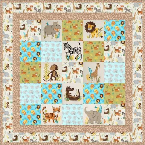 Safari Park Free Pattern Robert Kaufman Fabric Company