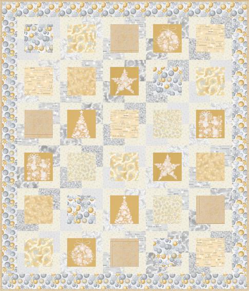 Great Frame Up Designer Pattern: Robert Kaufman Fabric Company