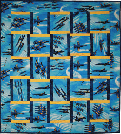 Blue Angels Quilt