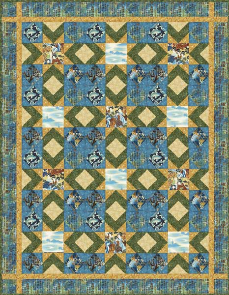 Free Quilt Patterns - Make a Quilt with Janet Wickell's Free Quilt