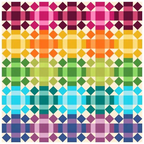 Rolling Rainbow Free Pattern Robert Kaufman Fabric Company
