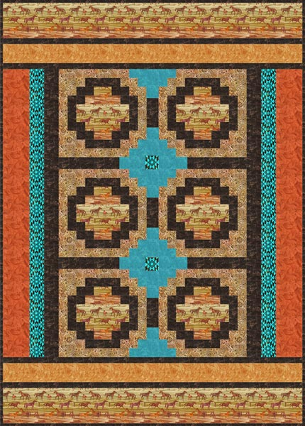 Santa Fe Trail Quilt Free Pattern Robert Kaufman Fabric