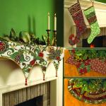Fabric Christmas Tree Skirts & More