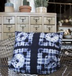 Fabric Indigo Pillow