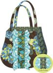 Fabric Ruffle Tote & Coin Purse