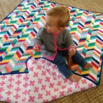 Fabric Simple Quilted Blanket