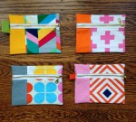 Fabric Zippered Pouch
