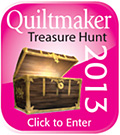 Quiltmaker Treasure Hunt 2013