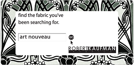 Art Nouveau. Robert Kaufman Fabrics. Find the fabric you've been searching for.