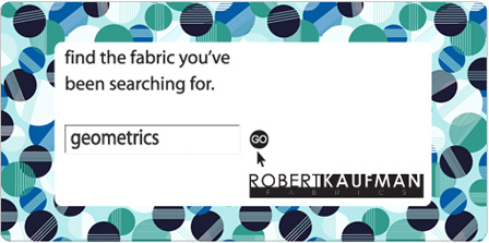 Geometrics. Robert Kaufman Fabrics. Find the fabric you've been searching for.