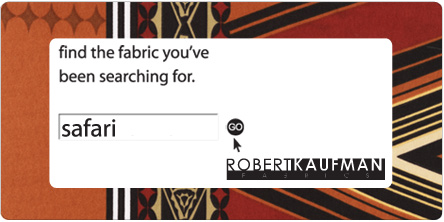 Safari. Robert Kaufman Fabrics. Find the fabric you've been searching for.