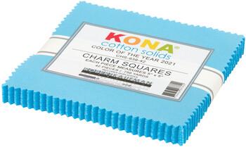 Kona Cotton Ten Squares White