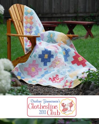 Project 1: Tip Toe Thru the Flowers quilt kit