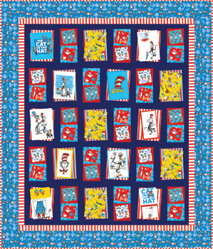 Bump Thump Panel Quilt kit