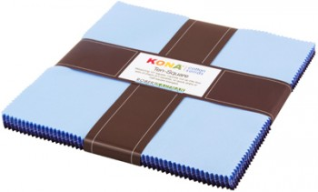 Kona® Cotton, Blueberry Thicket palette
