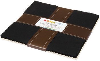 Kona ® Cotton, Black and Snow
