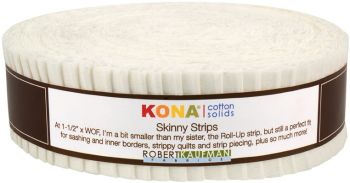 Kona® Cotton, Snow Skinny Strips
