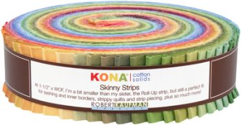 Kona® Cotton, Skinny Strips Dusty palette