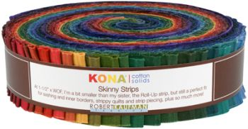 Kona® Cotton, Skinny Strips Dark palette
