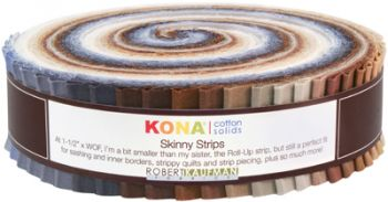 Kona® Cotton, Skinny Strips Neutral palette