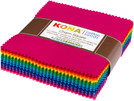 Pattern Kona® Cotton, Bright 101 Palette