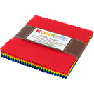 Pattern Kona® Cotton - Bright Rainbow Palette