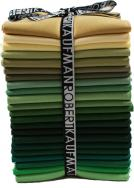 Kona® Cotton Solids, Evergreen colorstory