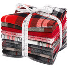 Mammoth Flannel by Studio RK - Red Colorstory