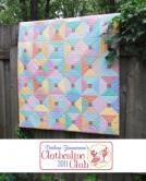Project 11: Hap Hap Happy lap quilt kit
