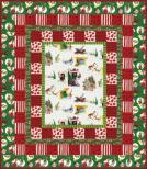 Cozy Grinchmas flannel quilt kit