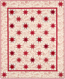 Toile Stars Quilt Kit feat. Betsy