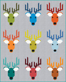 Pattern Dwight the Deer by Elizabeth Hartman feat. Kona® Cotton