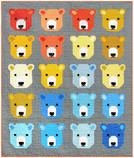 Pattern Bjorn Bear by Elizabeth Hartman feat. Kona® Cotton