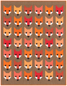 Pattern Fancy Fox by Elizabeth Hartman feat. Kona® Cotton