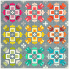 Pattern Casserole Quilt Kit by Elizabeth Hartman - feat. Library