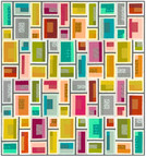 Pattern Rapid City Quilt Kit by Elizabeth Hartman - feat. Library