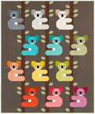 Pattern Koalas Quilt Kit by Elizabeth Hartman - feat. Library