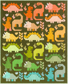 Pattern Dinosaurs Kit by Elizabeth Hartman feat. Paintbox